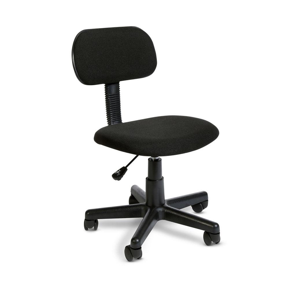 Silla de oficina bucarest negra promart for Sillas para oficina sodimac