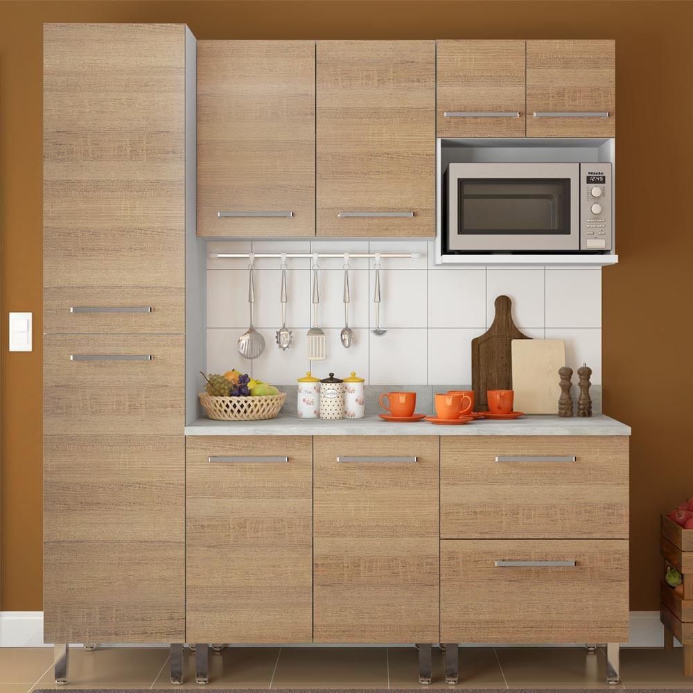 COMBO Muebles de cocina modulares 1.85 metros Avellana - Promart