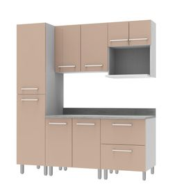 COMBO Muebles de cocina modulares 1.85 metros Gris - Promart