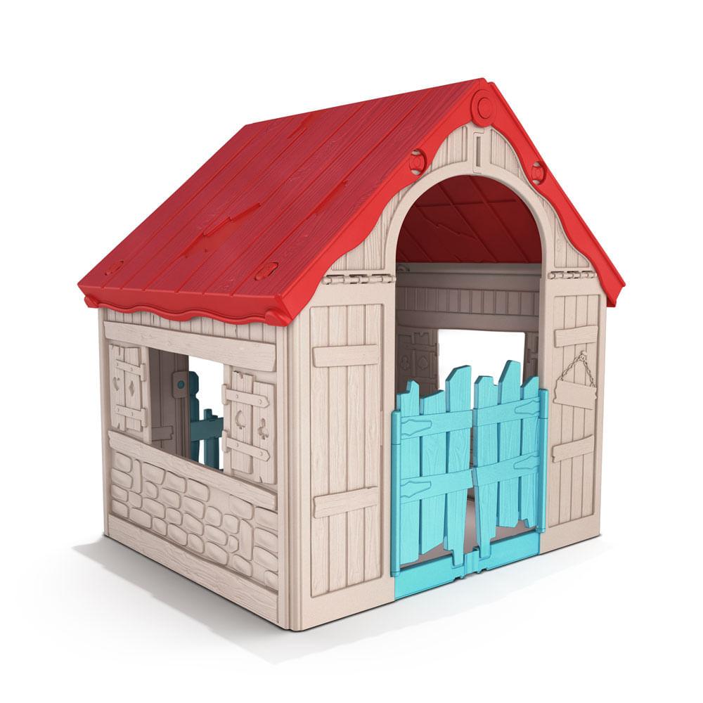 Casa para niños Wonderful Beige Rojo - Promart