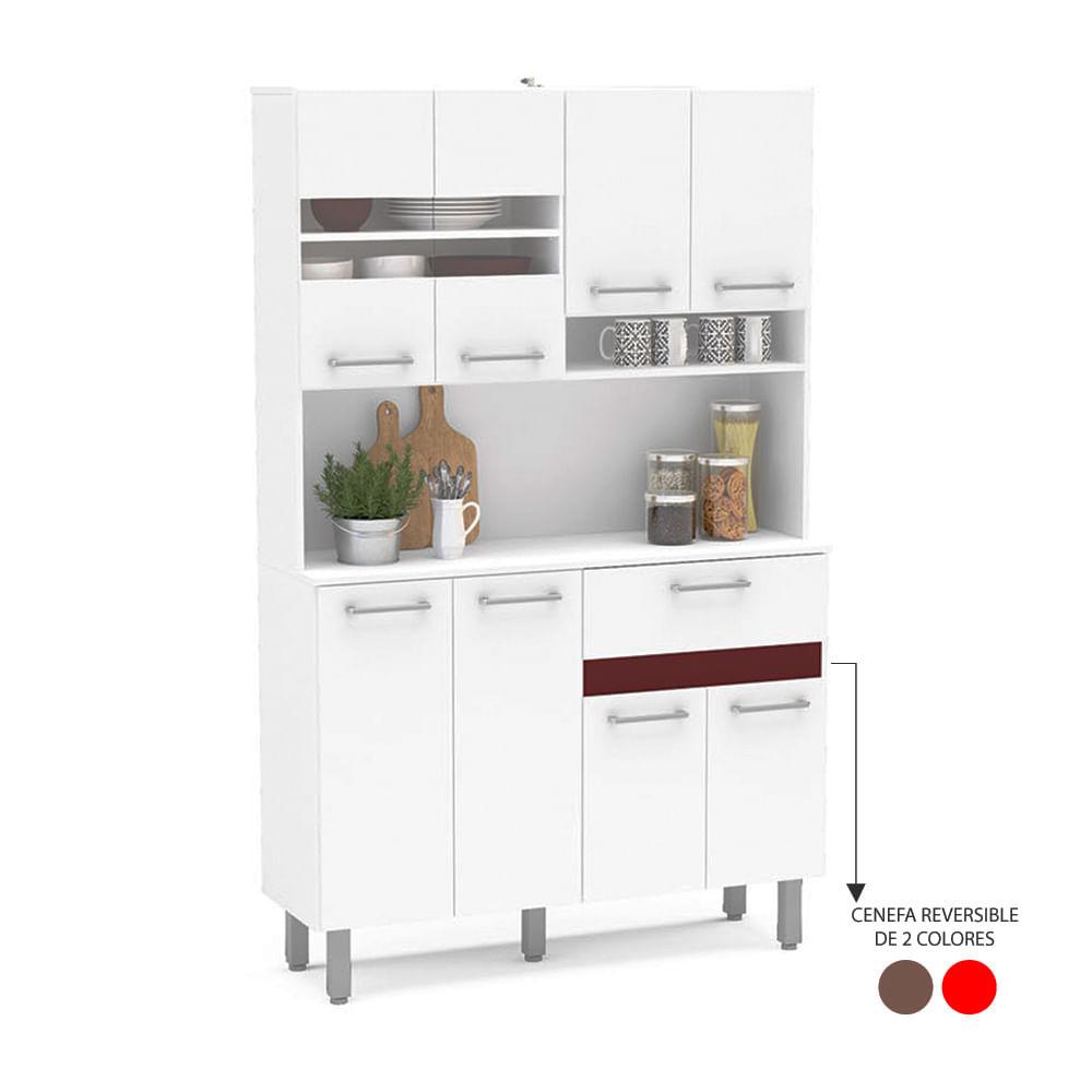 Mueble de cocina carolina 15 mm promart for Muebles de cocina homecenter