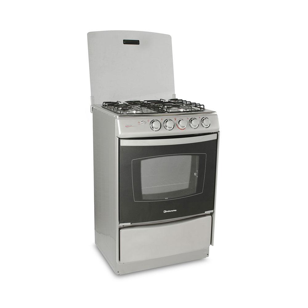 Cocina a gas coru a 4 hornillas promart - Cocinas en coruna ...