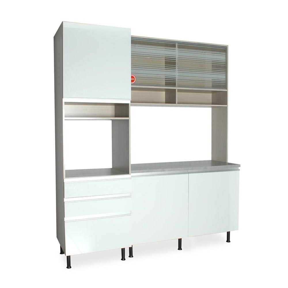 Mueble de cocina Glamy Top 15 mm - Promart