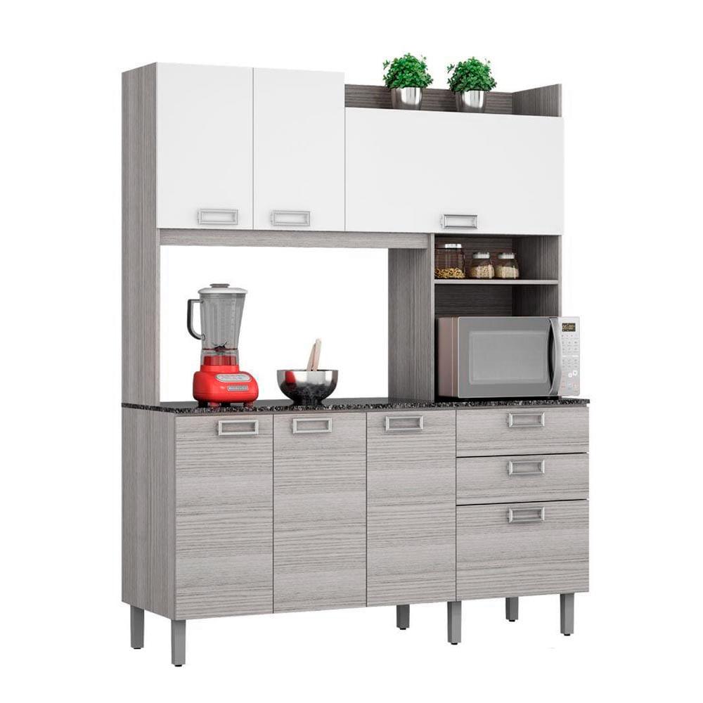 Mueble de cocina Angie Gris - Promart