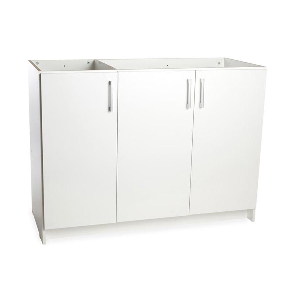 Mueble para cocina bajo lavadero 120 cm Blanco - Promart