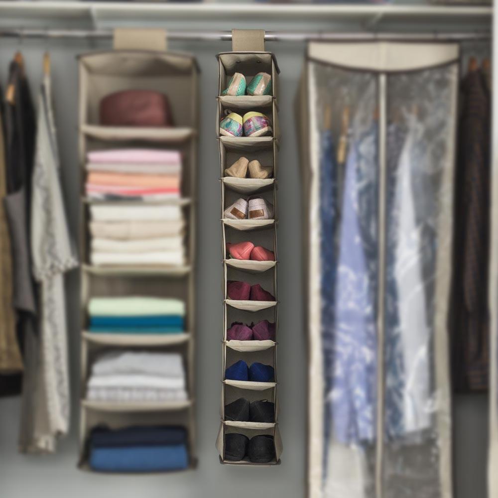 Organizador colgante para zapatos 10 niveles - Promart 4e02d05db05a