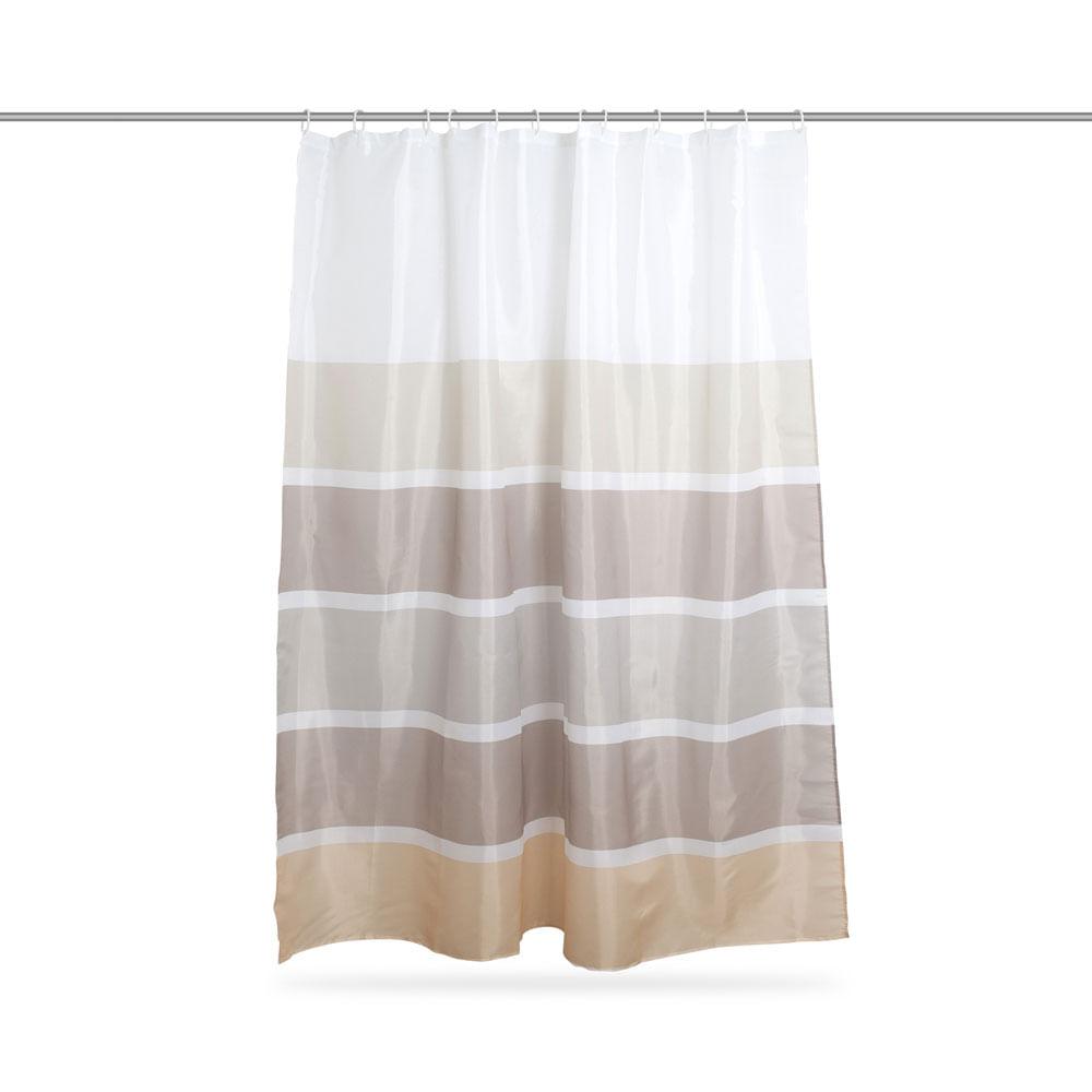 da281359c7 Cortina de baño Polyester Pantone Gris - Promart