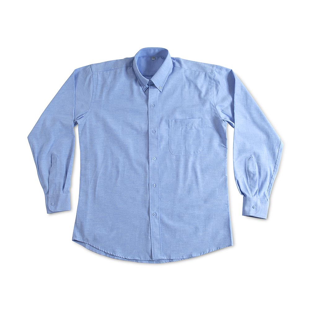 2c5bda48d8 Camisa Oxford Manga larga Celeste Talla  Medium - Promart