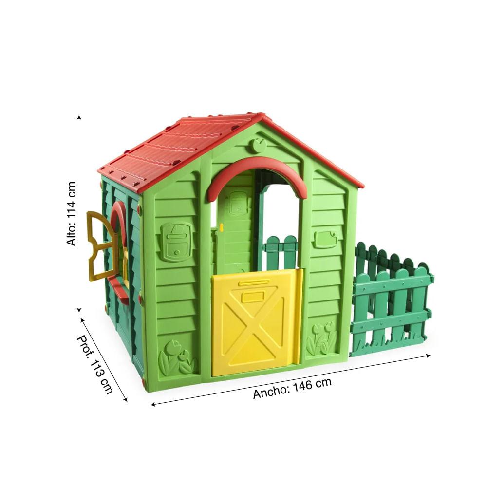 incluye accesorios para casa de juguetes y casa de verano Cortinas para casa de ni/ños rojo a cuadros