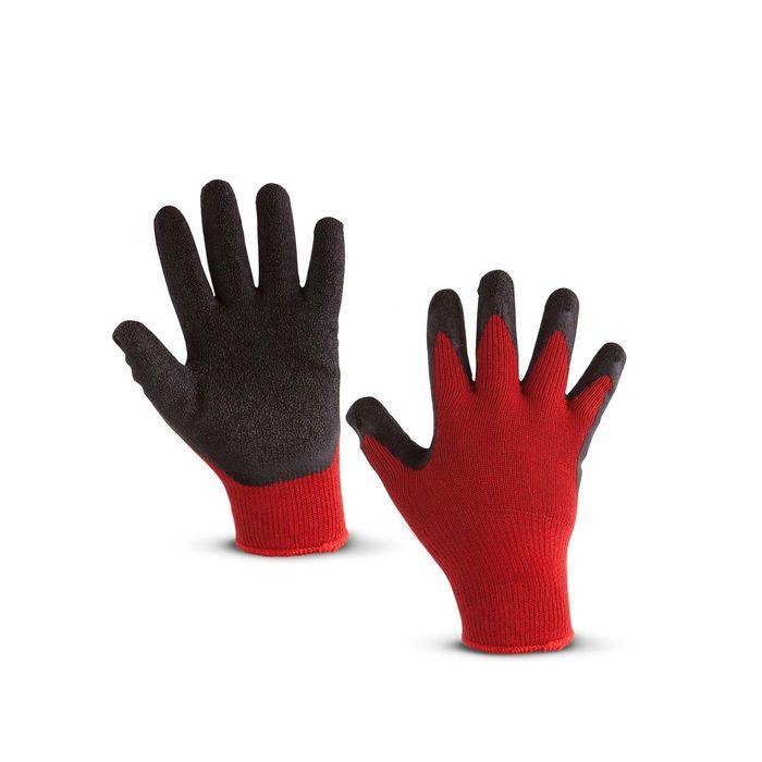 Ni/ños Guantes de trabajo L/átex guantes de protecci/ón Guantes de jardiner/ía guantes guantes infantil naranja talla 3