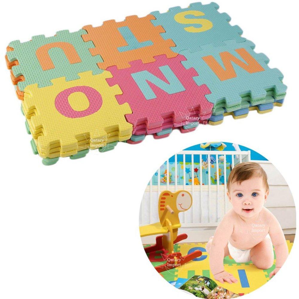 Pisos Alfombra de Goma EVA 36 Piezas para Niños o Bebes ...