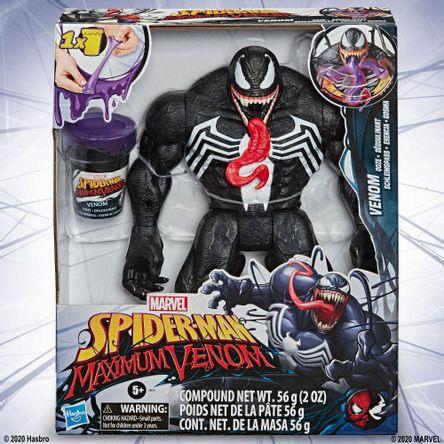 Muñeco Spiderman Venomized Feature Figure
