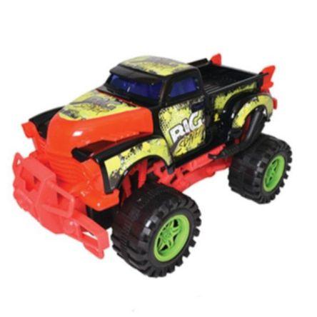 Carro Team Power Max Monster Truck Frict Surtido 30 Cm Negro