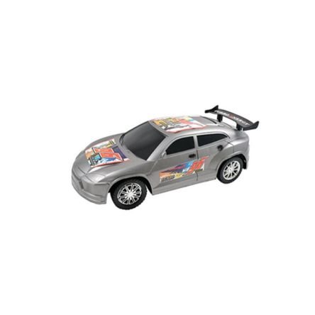 Carro Team Power Turbo Rally Car Friction Surtido 30 Cm Plomo