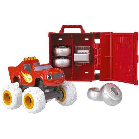 Carrito Personalizado Monster Truck Rojo Fhv37