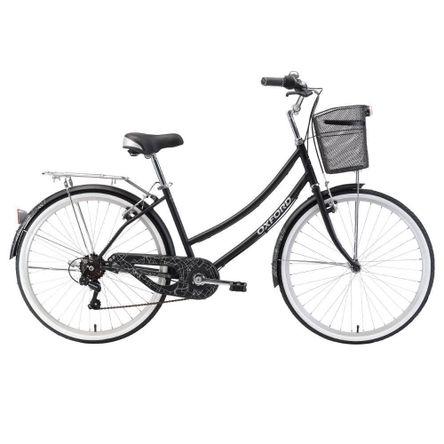 Bicicleta Oxford Cyclotour 6V M Negro Aro 26 Negro/Blanco
