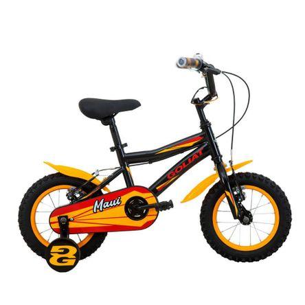 Bicicleta Goliat Maui Aro 12 Negro