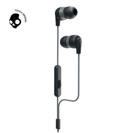 Audífonos Skullcandy Inkd + W/Mic Black Gray