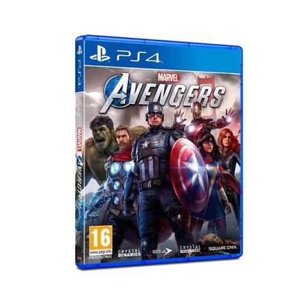 Juego PS4 Marvels Avengers - Latam