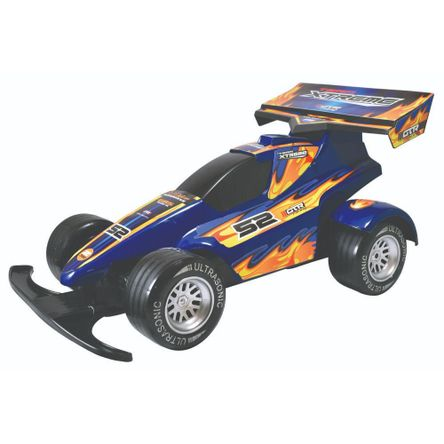Carro Extreme Racers Fricton Azul