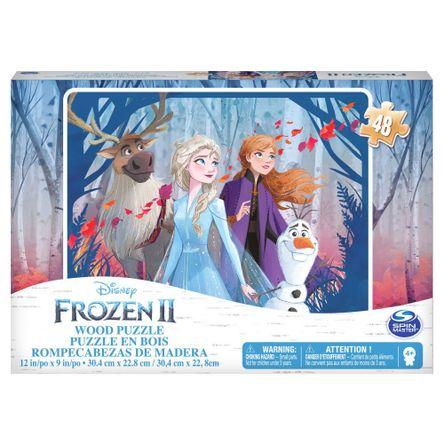 Rompecabeza Frozen De Madera x1