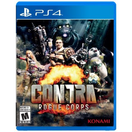 Juego Contra Rogue Corps PS4