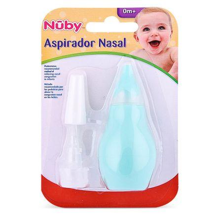 Nuby Aspirador Nasal Verde