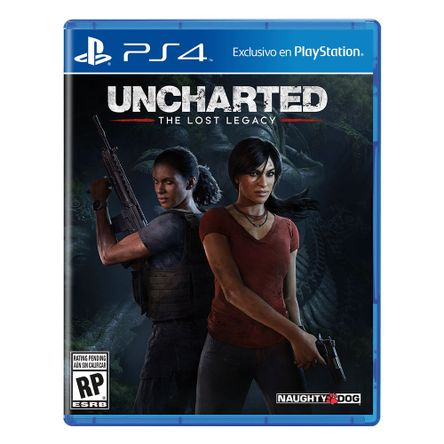 Uncharted Lost Legacy PlayStation 4